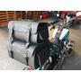 Kit Viagem: Alforge 54l mala Traseira 75l V2 Custom brinde