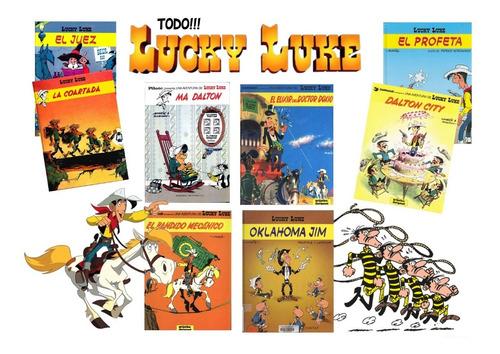 Lucky Luke Todo!! La Coleccion Completa Edicion En Dvd O Dd.