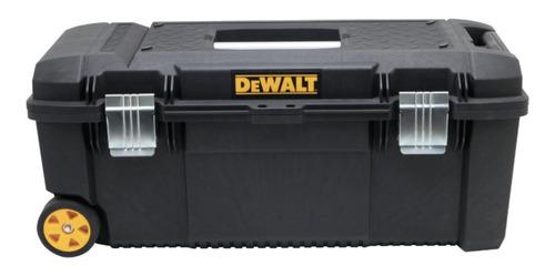 Caja De Herramientas Dewalt Dwst28100 De Plástico Con Ruedas 320mm X 715mm X 305mm Negra