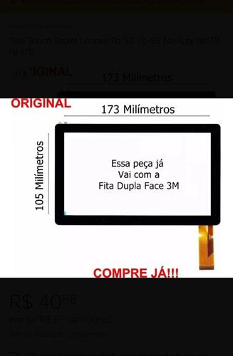 Tela Vidro Touch Tablet Navicity Nt1711 Nt 1711 7 Polegadas