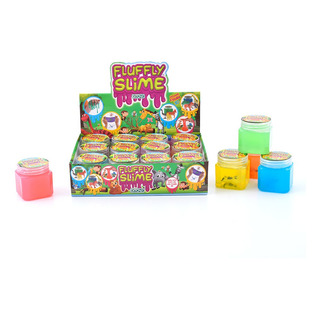 Fluffly Slime Surtido Con Animales 3d Cuotas