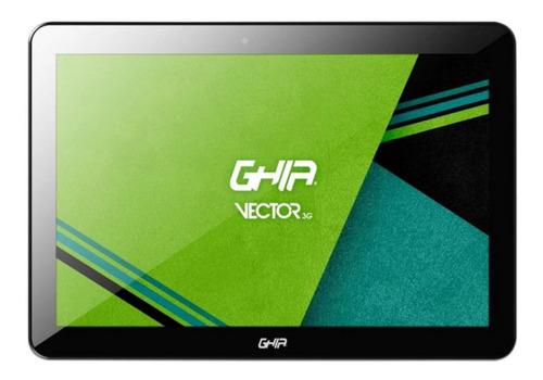 "Tablet Ghia GTVR103G de 10"" Pulgadas con Conexión Celular 3G, Dual SIM, 16GB color Negro con 2GB de memoria RAM + Regalo - Ecart"