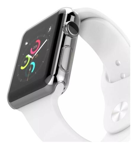 Case Bumper 360 Graus Protetor Compatível Com Apple Watch