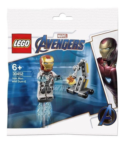 Lego 30452 Iron Man Y Dum-e Marvel Avengers Baloo Toys