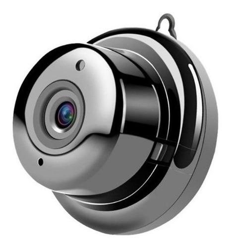 Mini Câmera Segurança Espiã Ip Wi-fi Noturna Vigilância V380