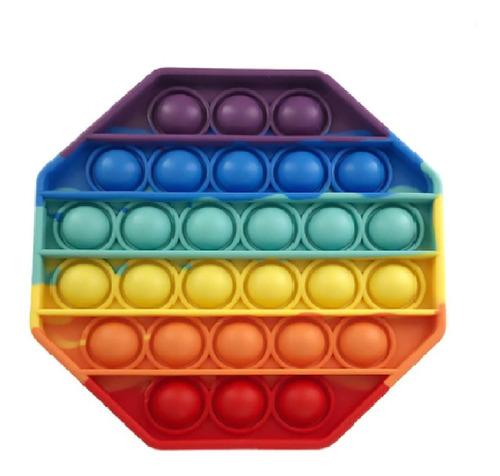 Pop-it Fidget Toy Empurre Pop Bolha Autismo Anti-stress