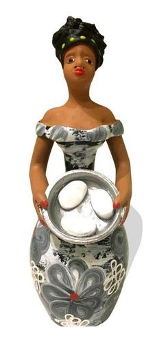 Escultura Moreninha Namoradeira