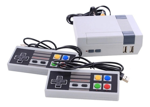 Vídeo Game Nintendo Retrô 8 Bits 3000 Jogos + 2 Controles