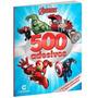 Livro 500 Adesivos E Atividade Heróis Vingadores Disney