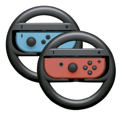 Par Volante Nintendo Switch Controle Joy Grip Mario Kart Rac