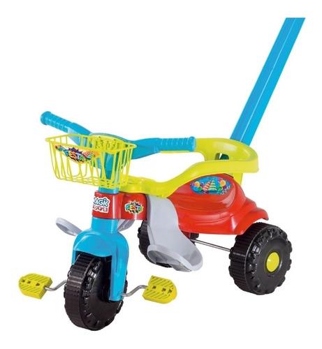 Triciclo Velotrol Infantil Bebe Motoca Festa - Magic Toys