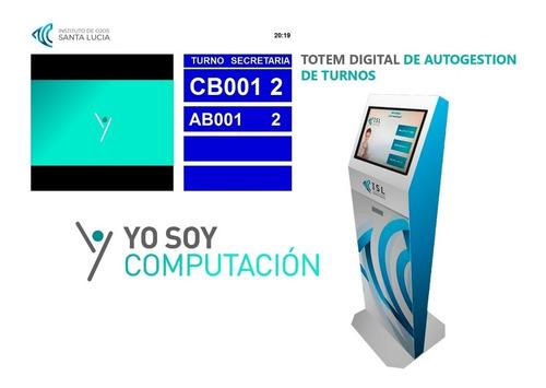 Turnero Digital | Terminal Totem De Autogestion De Turnos |