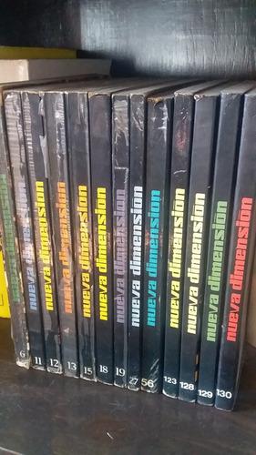 Lote 12 Libros Revistas Nueva Dimension Ciencia Ficcion