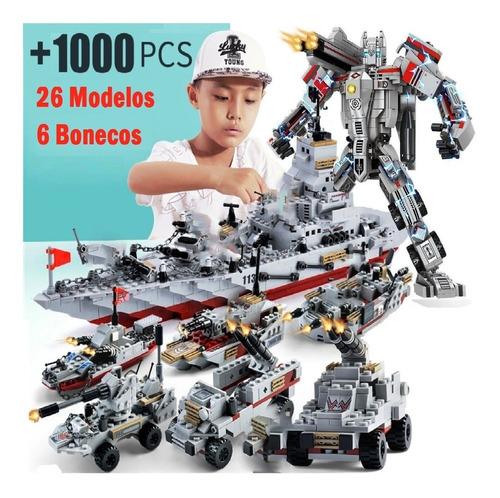 +1.000 Peças De Montar Navio De Guerra Qualidade Lego