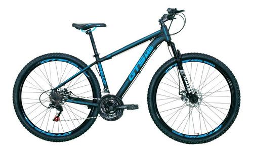Bicicleta Gts Pro M5 Techs 21v Alumínio Aro 29 Freio À Disco