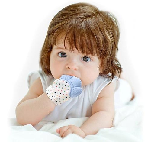 Luva Mordedor Massageador Escova Coça Gengiva Bebê