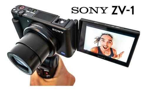 Sony Zv1 Câmera P/ Vlog Youtube Superior Rx100 A7iii A6400