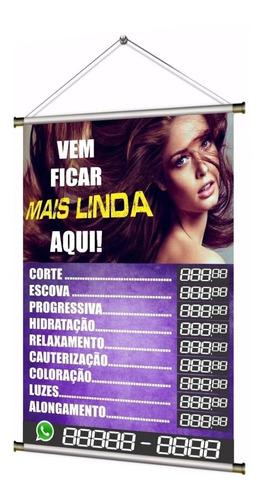 Banner Pronto Salão De Beleza