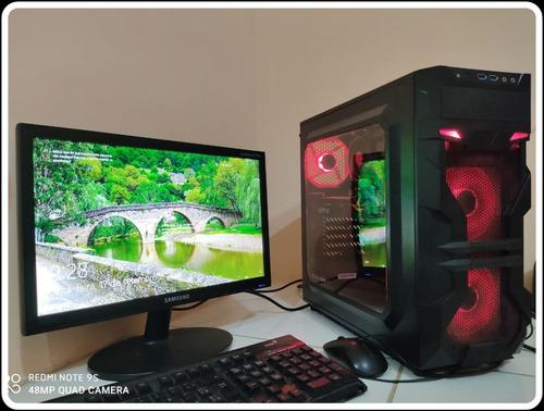 Pc Gamer Intel I5 4º Geração Rx 580 256 Bits Roda Tudo !