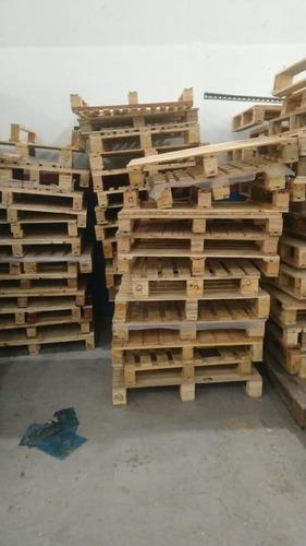 1 Un - Pallet De Madeira Cru S/ Acabamento Varios Tam.