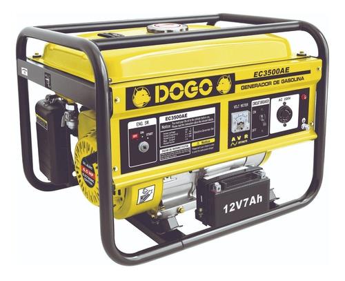 Generador Portátil Dogo Ec3500a Con Tecnología Avr 220v