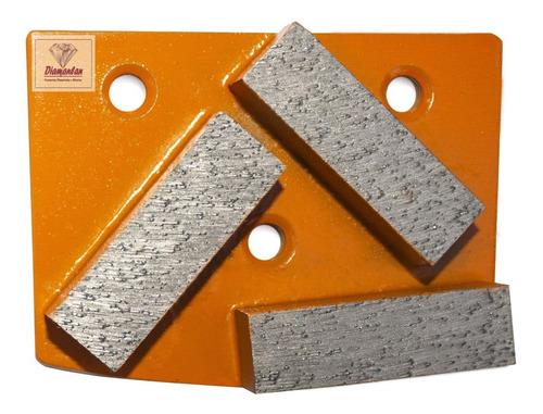 Htc Rebolo Inserto Diamantado Desbaste 3 Pastilha Pisos
