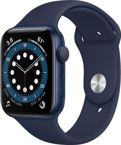 Apple Watch Serie 6 44mm Azul, 1 Ano De Garantia!