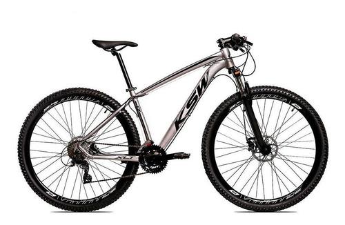Bicicleta Alum 29 Ksw Shimano 27v A Disco Hidráulica Krw14