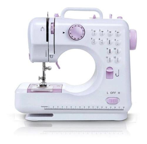 Máquina De Costura Reta Importway Iwmc-505 Portátil Branca 127v/220v