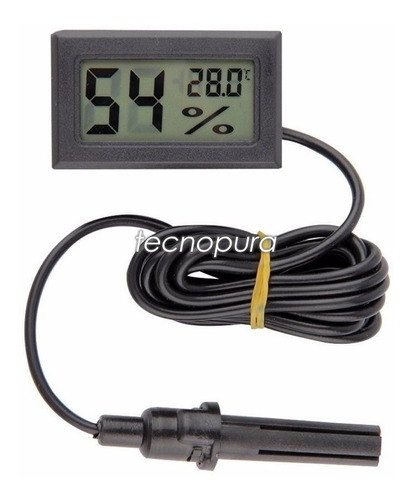Higrómetro Termómetro Digital + Sonda Humedad Y Temperatura