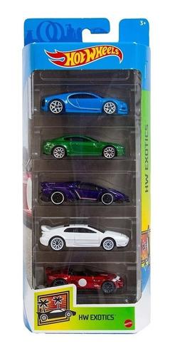 Hot Wheels Cartela 5 Carrinhos Mattel - Escolha Seu Kit