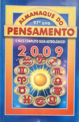 Almanaque Do Pensamento - 2009 Original