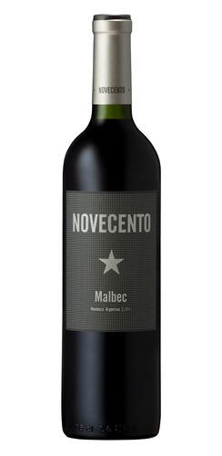 Vino Tinto Malbec Novecento Bodega D. Robino 750ml