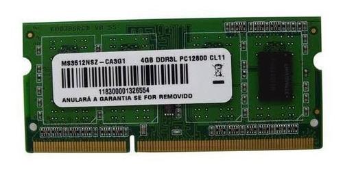 Memória Ram 4gb 1600mhz Lenovo