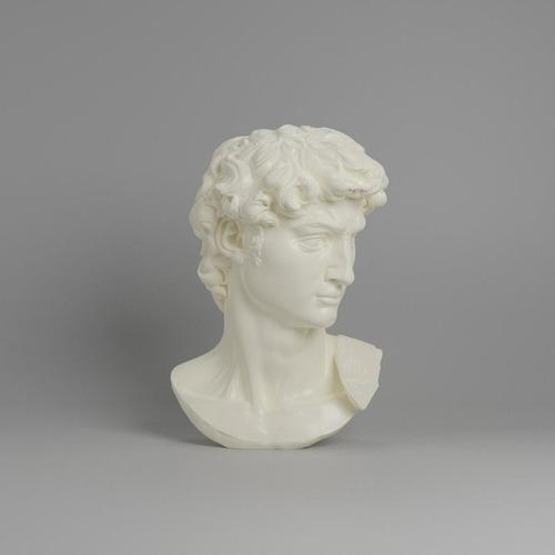 Escultura Estatua Cabeça Busto David De Michelangelo