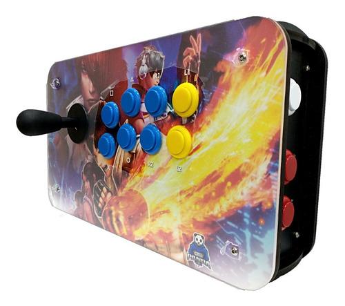 Controle Arcade Pc Kof C/ Placa Zero