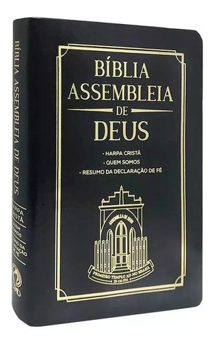 Bíblia Assembleia De Deus Harpa Cristã Letra Grande