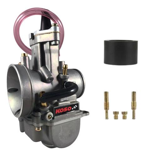 Carburador Koso Guilhotina Competição 28/30/32/34mm Powerjet