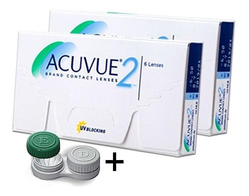 Lente De Contato Acuvue 2 Grau - 02 Caixas + Frete Grátis