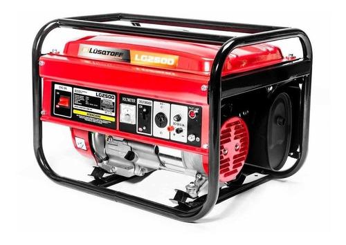 Generador Portátil Lusqtoff Lg2500 2500w Monofásico 220v