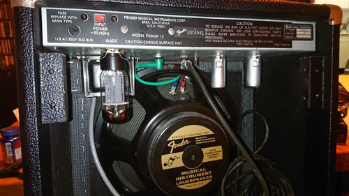 Fender Vintage Valvular Champ 12 Usa No Vox Marshall Laney