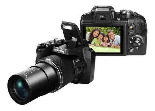 Câmera Fujifilm Finepix S8200 Lcd 3.0 16.2mp + Microsdhc 32g