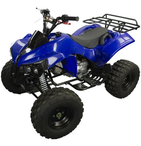 Quadriciclo Atv 125cc Gasolina P Elétrica 4t Com Ré 0 Km