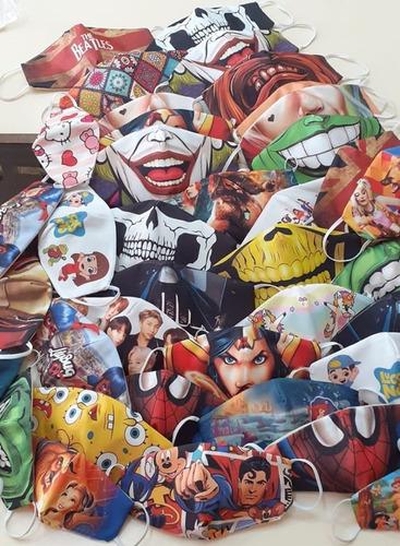 Mascaras De Tecido Personalizada Para Proteção