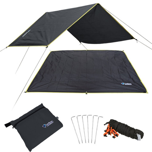 4-6 Pessoas Ultraleve Tent Mat Folha Tarp Pegada Terra