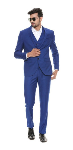Kit De Terno Completo - Paletó+calça+colete Modelo Premium
