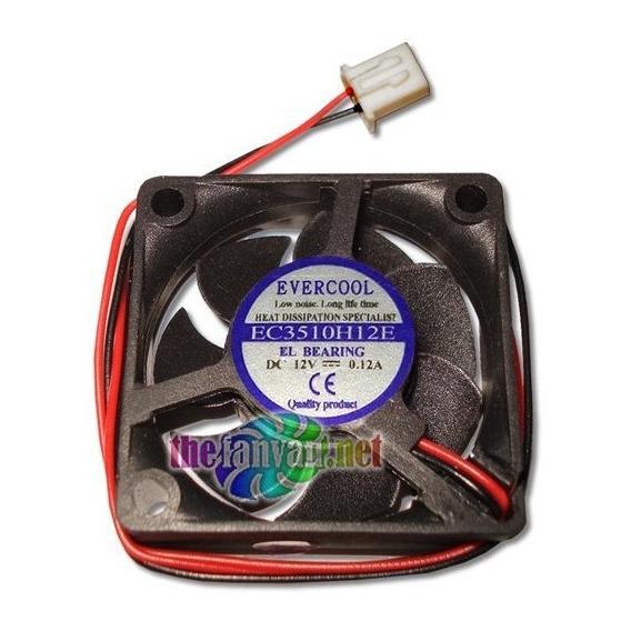 Evercool 35mm X 10mm 12 Volt Everlube Bearing Fan W/2 Pin...
