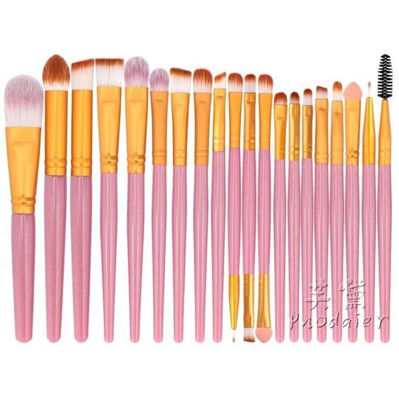 Set De Brochas Maquillaje X 20 Brochas Surtidas