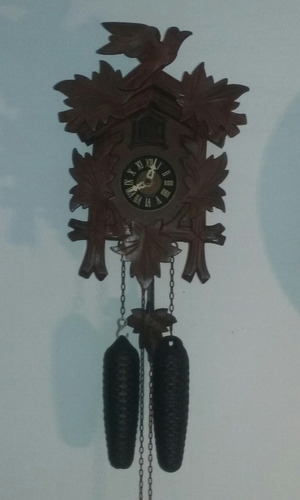Reloj Cu-cu De Pared Regula Selva Negra, 8 Dias Aleman