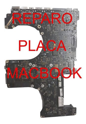 Macbook Pro 15 A1286 2011, E 1297, Reparação De Placa Lógica